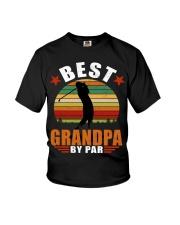 Best Grandpa By Par Youth T-Shirt thumbnail