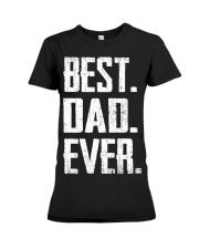 New - Best Dad Ever Premium Fit Ladies Tee thumbnail