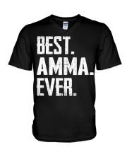 New - Best Amma Ever1 V-Neck T-Shirt thumbnail
