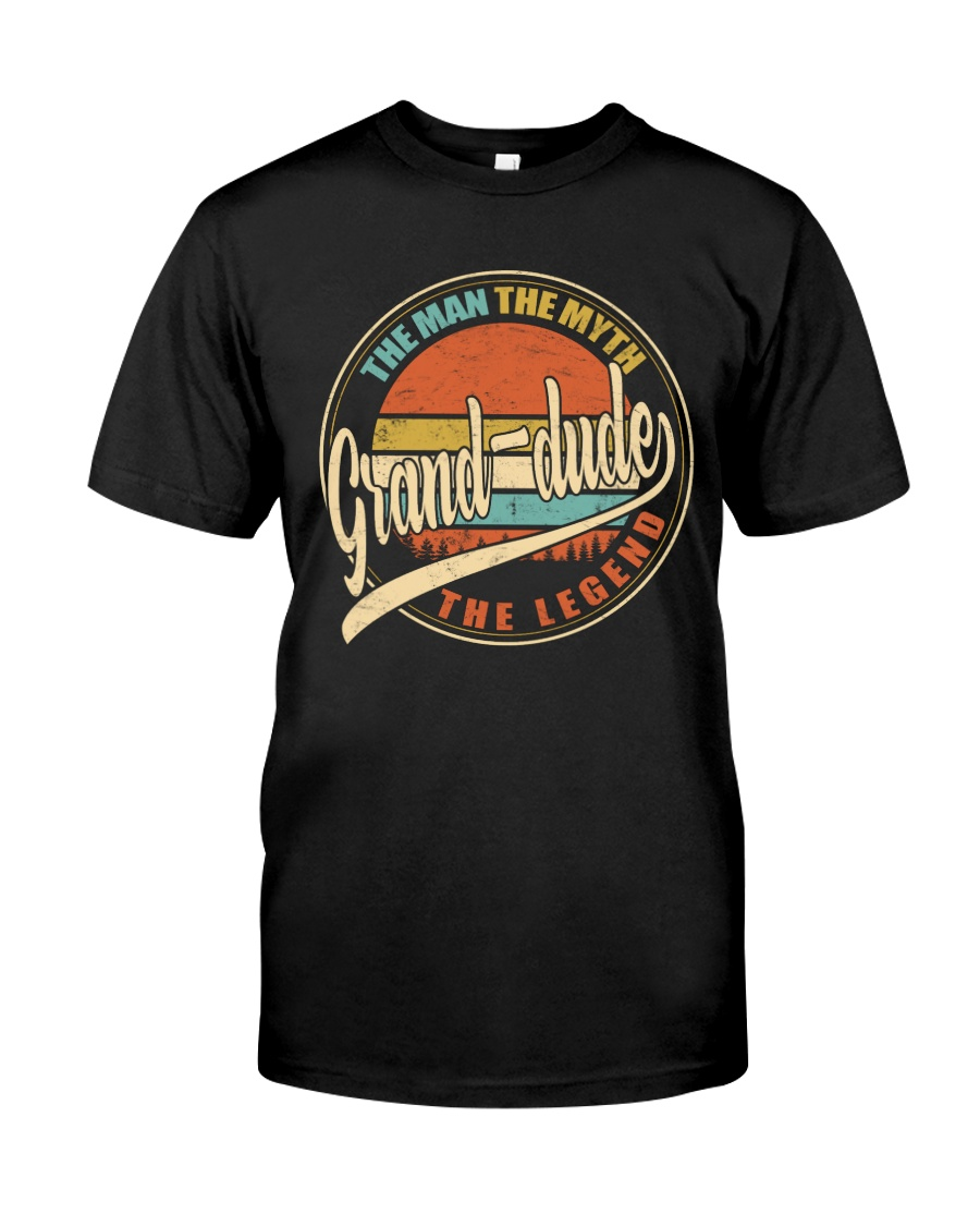 Grand-dude - The Man - The Myth Classic T-Shirt
