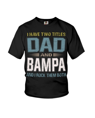 I have two titles Dad and Bampa - RV10