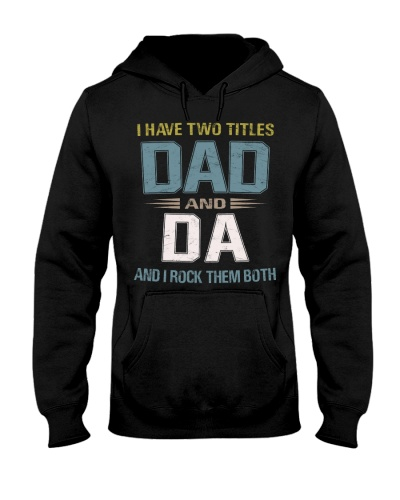 I have two titles Dad and Da - RV10