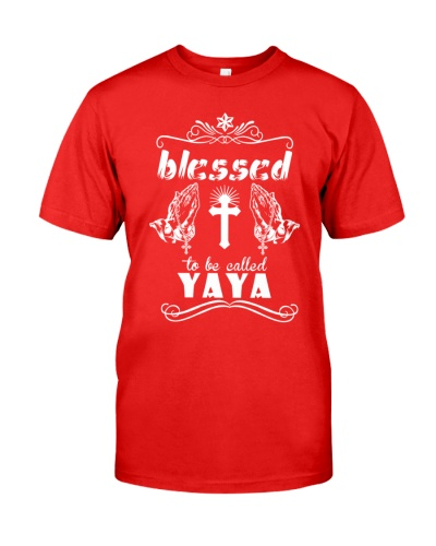 Blessed to be called yaya  prays