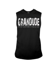 Grandude because Grandfather is for old guys Sleeveless Tee thumbnail