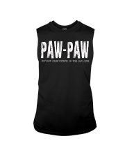 paw-paw Because Grandfather is for old guys Sleeveless Tee thumbnail
