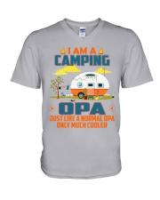 Opa - Camping Cooler V-Neck T-Shirt thumbnail