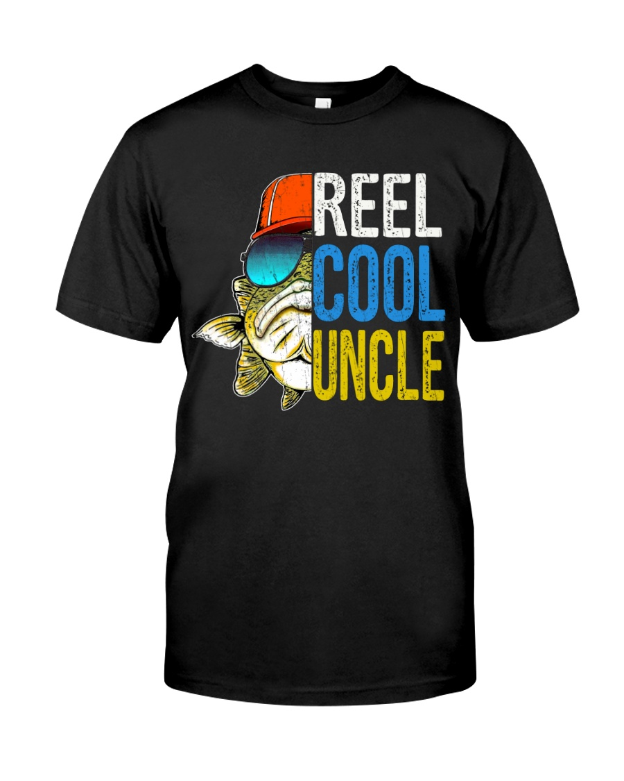 UNCLE- reel Cool papa - V4 Classic T-Shirt