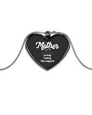 Mother Loving Caring The Legend Metallic Heart Necklace thumbnail