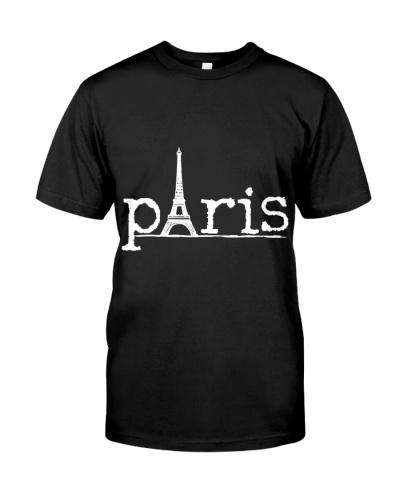 Paris France French Eiffel T Shirt Hoodie