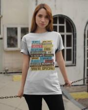 Text  Tee Classic T-Shirt apparel-classic-tshirt-lifestyle-19