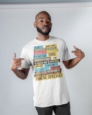 Text  Tee Classic T-Shirt apparel-classic-tshirt-lifestyle-front-32