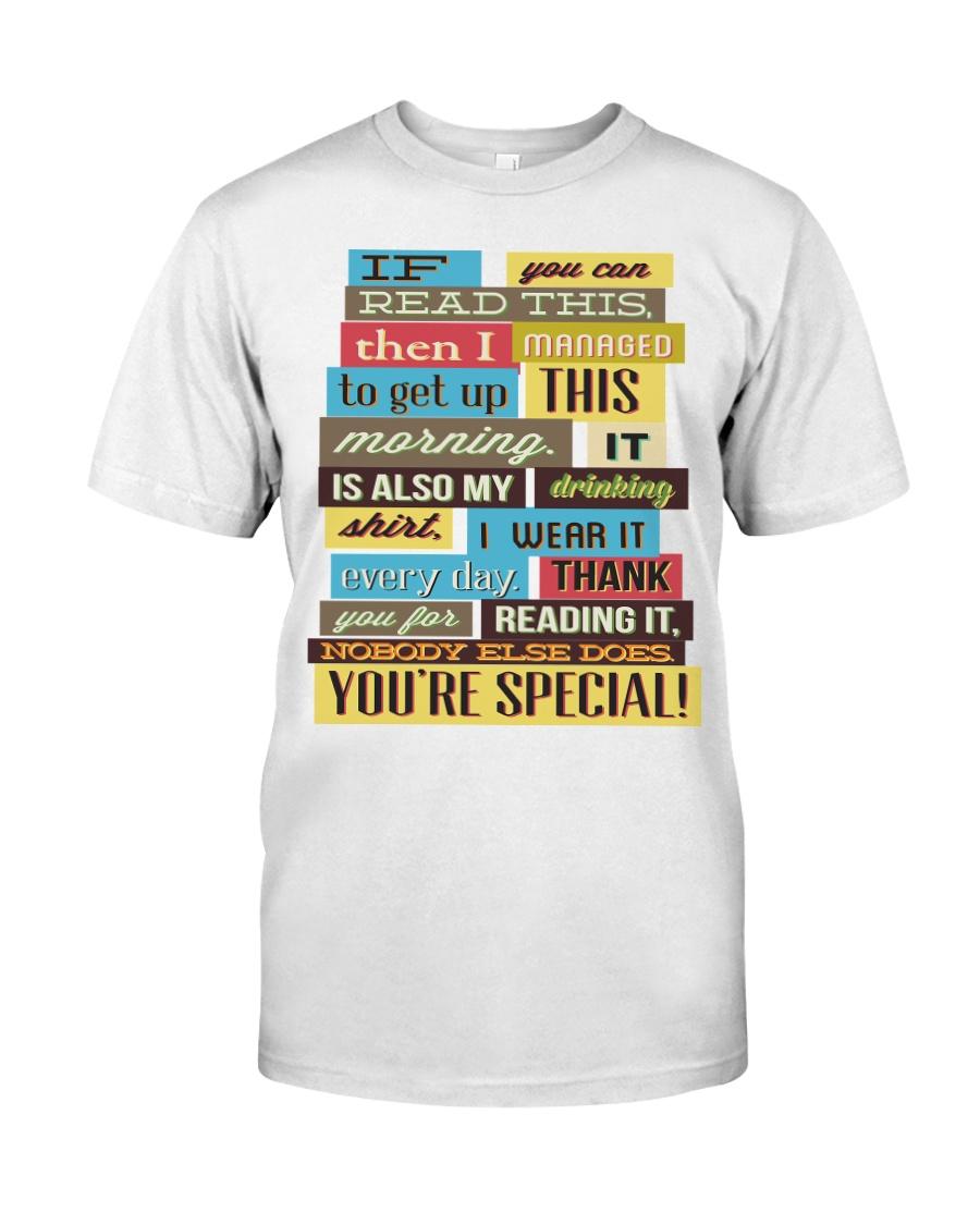 Text  Tee Classic T-Shirt