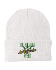 Keep Calm Smoke Weed  Knit Beanie thumbnail