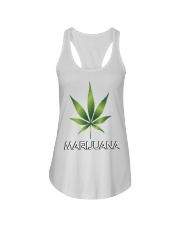 Marijuana  Ladies Flowy Tank thumbnail