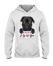 Pug I Woof You   Hooded Sweatshirt thumbnail