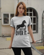 Just Get Over It  Classic T-Shirt apparel-classic-tshirt-lifestyle-19