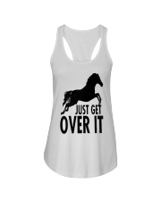 Just Get Over It  Ladies Flowy Tank thumbnail