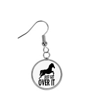Just Get Over It  Circle Earrings thumbnail