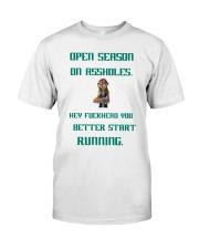 Open Season Classic T-Shirt front
