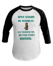 Open Season Baseball Tee thumbnail