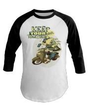 Keep Your Shit Together  Baseball Tee thumbnail