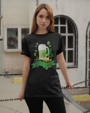 Happy St Paddys Day  Classic T-Shirt apparel-classic-tshirt-lifestyle-19