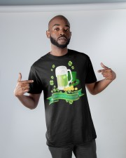 Happy St Paddys Day  Classic T-Shirt apparel-classic-tshirt-lifestyle-front-32