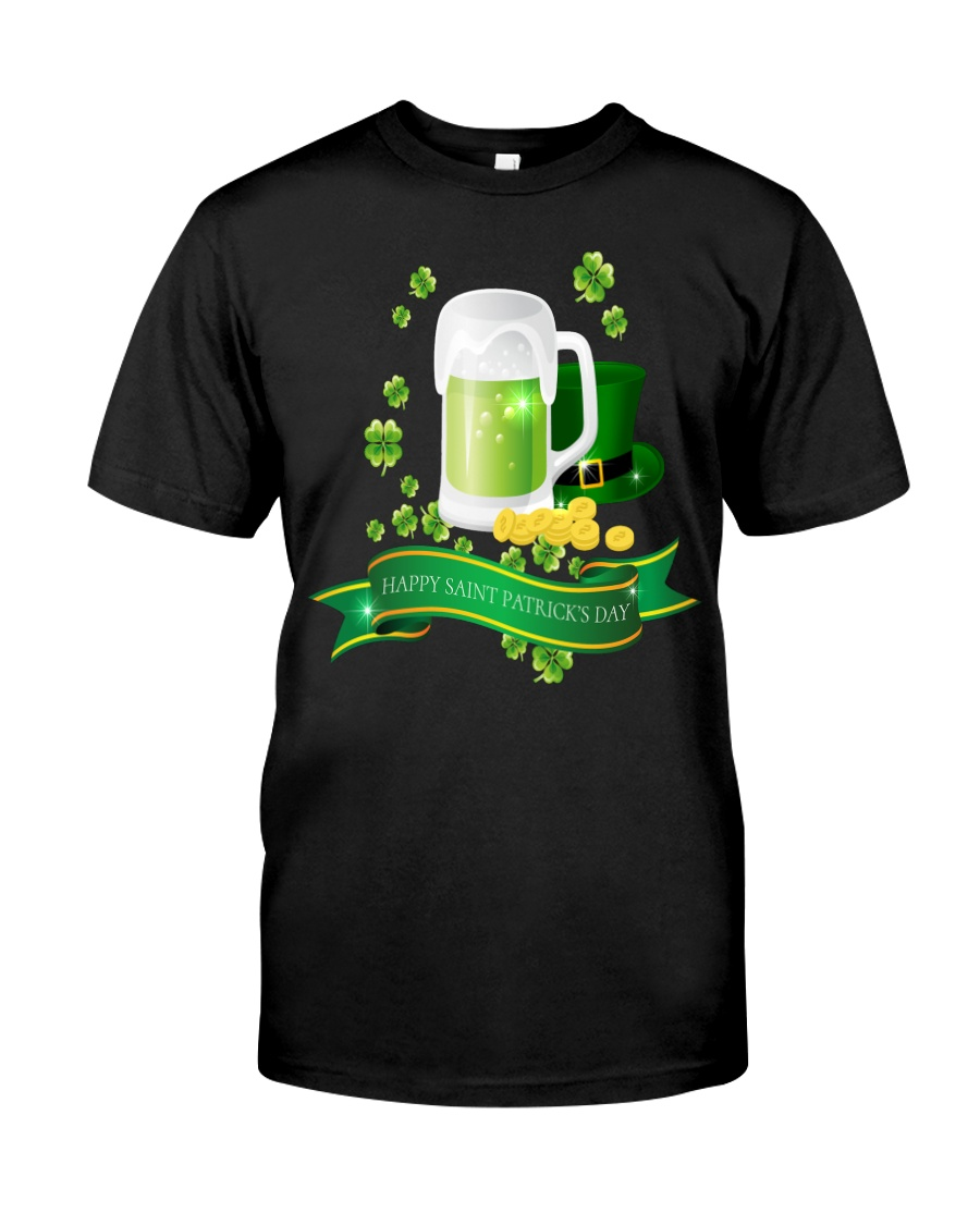 Happy St Paddys Day  Classic T-Shirt
