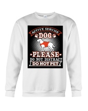 Active Service Dog  Crewneck Sweatshirt thumbnail