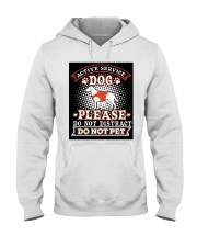 Active Service Dog  Hooded Sweatshirt thumbnail