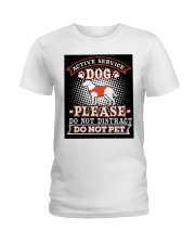 Active Service Dog  Ladies T-Shirt thumbnail
