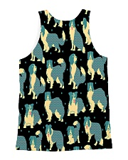 Border Collie All-over Unisex Tank back
