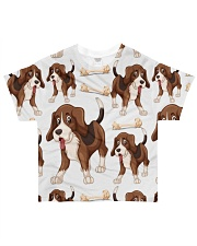 Dogs And Bones All-Over T-Shirt tile