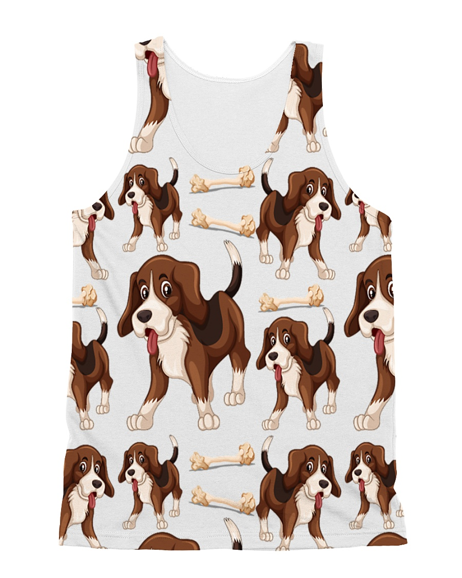 Dogs And Bones All-over Unisex Tank