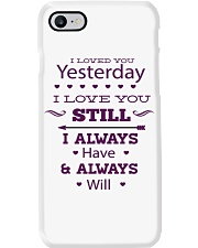 I Love You  Phone Case tile