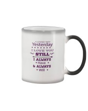 I Love You  Color Changing Mug tile
