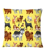 Dogs All Over Square Pillowcase thumbnail