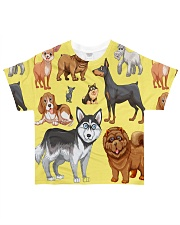 Dogs All Over All-over T-Shirt thumbnail