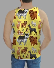 Dogs All Over All-over Unisex Tank aos-tank-unisex-lifestyle01-back