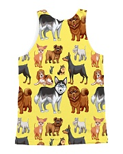 Dogs All Over All-over Unisex Tank back