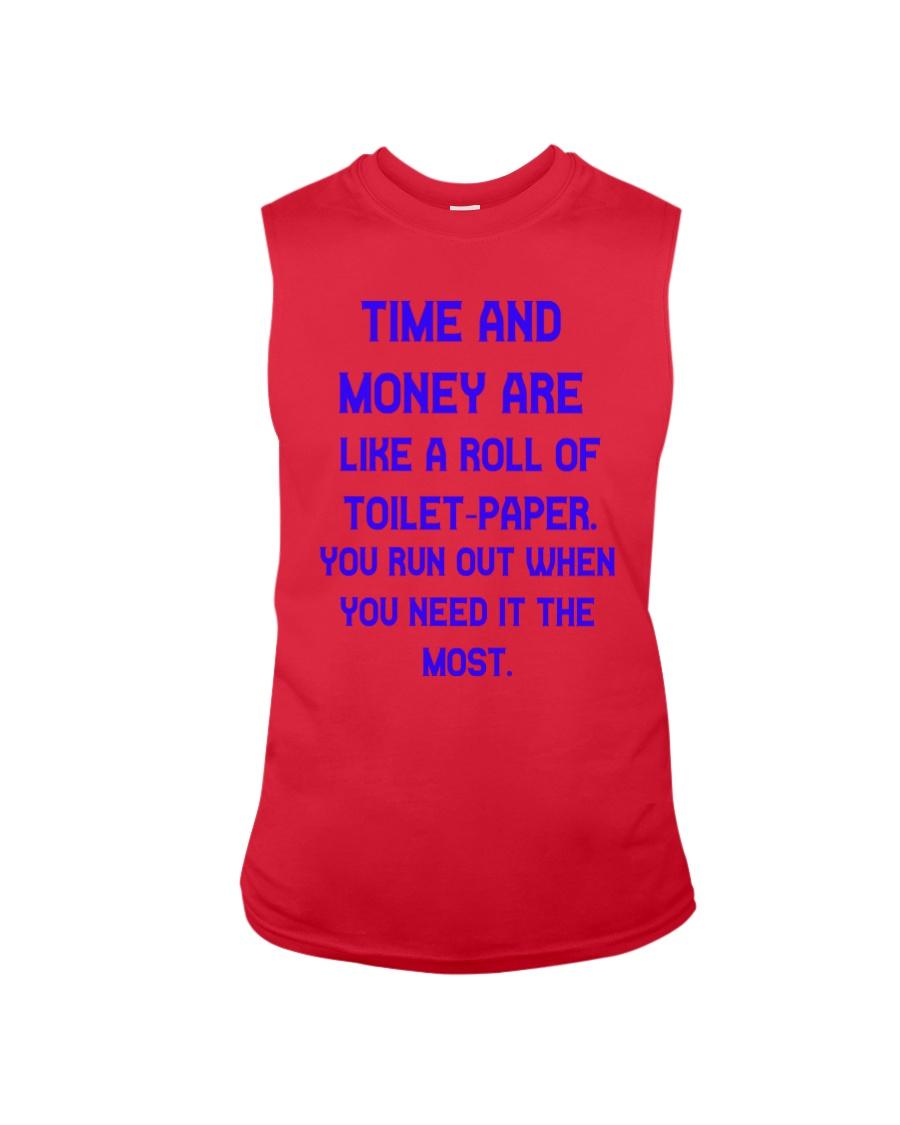 Time And Money Sleeveless Tee