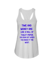 Time And Money Ladies Flowy Tank thumbnail