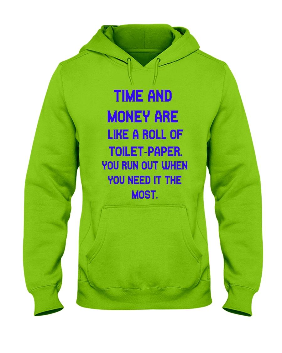 Time And Money Hooded Sweatshirt