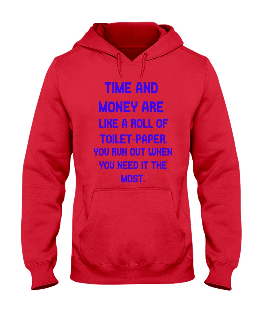 Time And Money Hooded Sweatshirt
