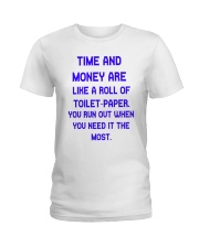 Time And Money Ladies T-Shirt thumbnail