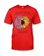 Mental Health Awareness Classic T-Shirt front