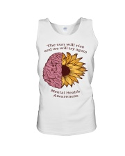 Mental Health Awareness Unisex Tank tile