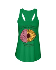 Mental Health Awareness Ladies Flowy Tank front