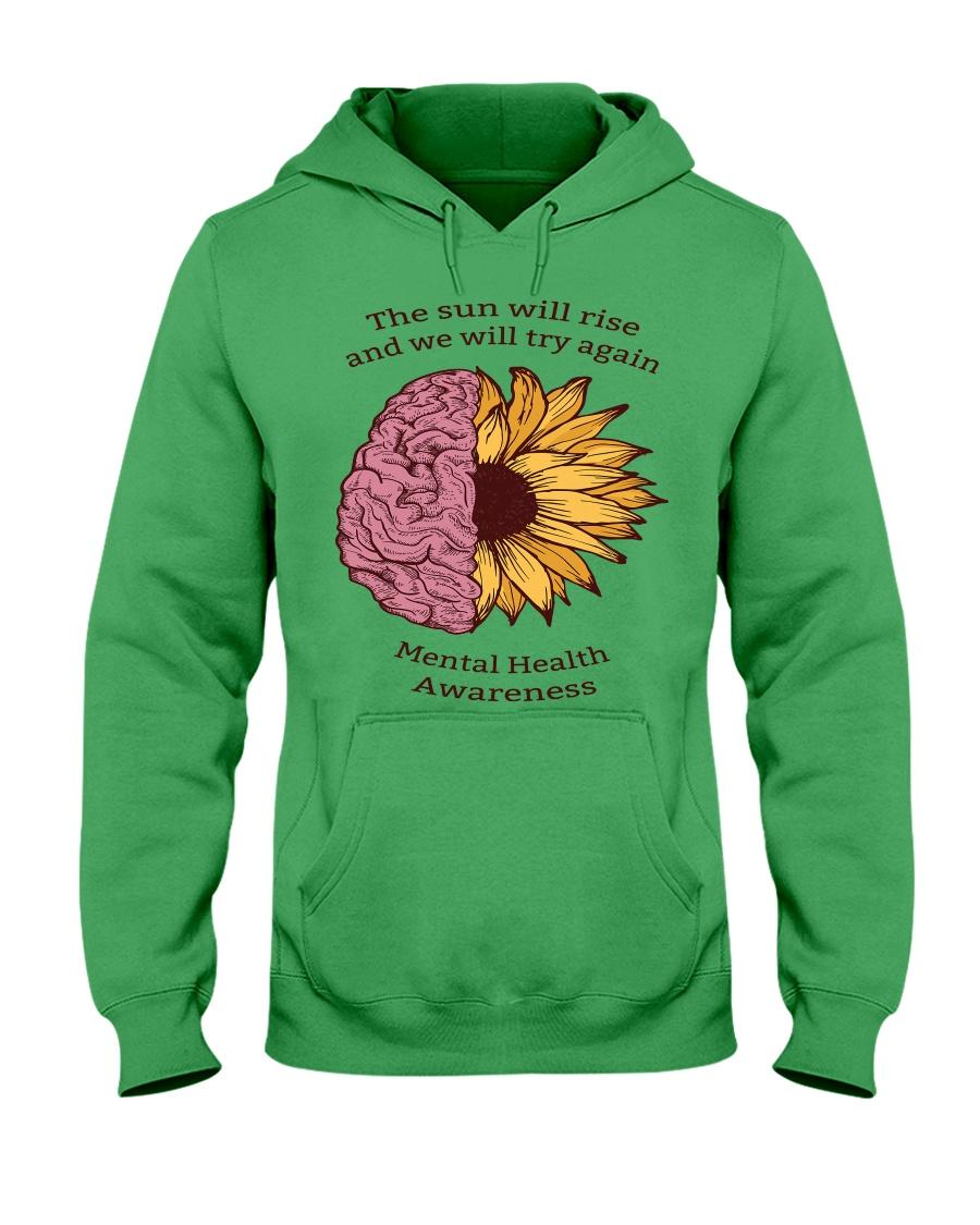 Mental Health Awareness Hooded Sweatshirt