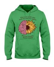 Mental Health Awareness Hooded Sweatshirt front